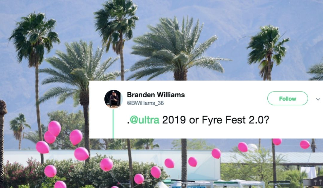 "Twitter Is Roasting This Miami Music Festival's Reported Issues, Calling It ""Fyre Fest 2.0"""