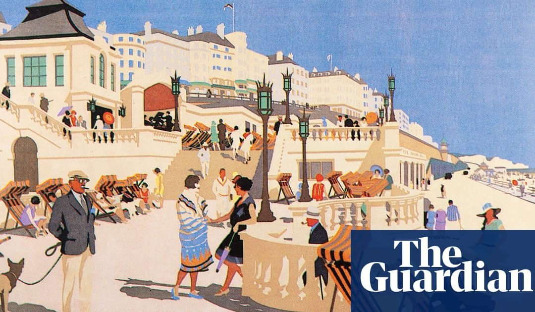 Can you guess the British city from the vintage travel poster?