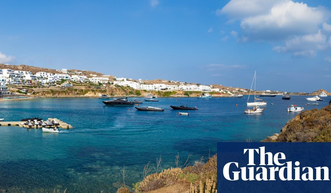 Superyachts and bad art: how Mykonos became the party island of the super-rich