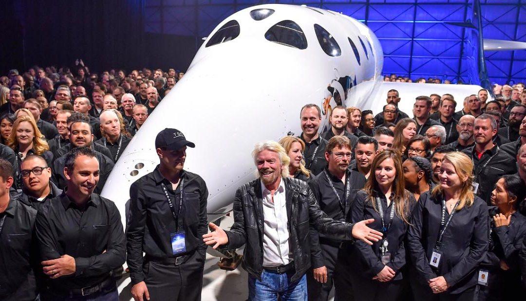 Richard Branson is taking Virgin Galactic public