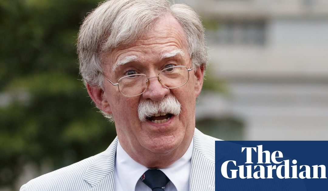 John Bolton in UK to meet Johnson and Brexit hardliners