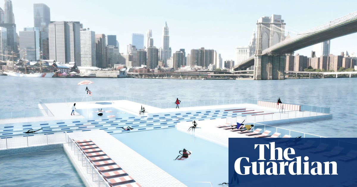 New York seeks plan for first floating self-filtering pool in the East River