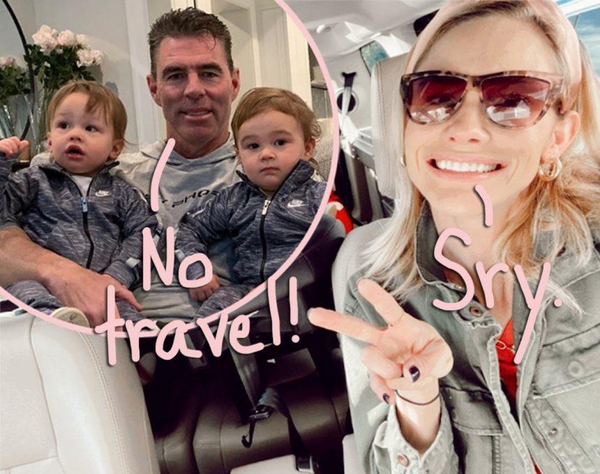 Meghan King Edmonds & Estranged Husband Jim Edmonds STILL Fighting Over Kids Amid Coronavirus Concerns – Here's The Latest! – Perez Hilton