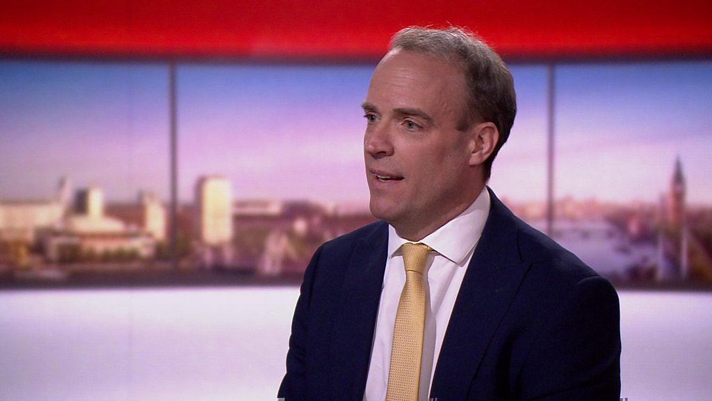Raab: UK must find 'new normal' to ease lockdown